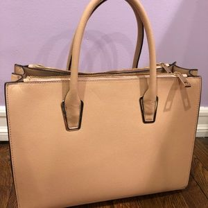 H&M Blush Colored Hand Bag